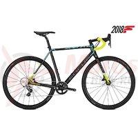 Bicicleta Focus Mares Sram Rival 1 11G carbon/blue/green 2018