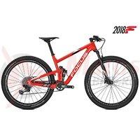 Bicicleta Focus O1E Team 12G 29 red/white 2018