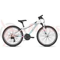 Bicicleta Focus Raven Rookie 21G 24 white 2018