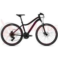 Bicicleta Ghost Lanao 26' Base AL U 2021 - Negru/Visiniu