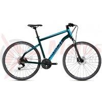 Bicicleta Ghost Square Cross Base AL U 2021 Verde/Bleu