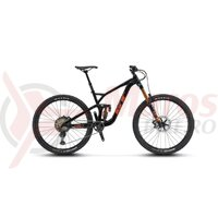 Bicicleta GT Force 29 Pro Gloss Black/Rust and White