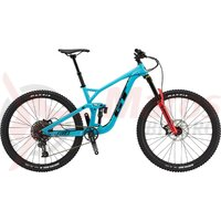 Bicicleta GT Force Elite 29' Gloss Aqua w/ Black & Red 2021