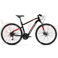 Bicicleta Haibike Seet Cross 2.0 21 S. Tourney black/white/red matt 2019