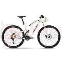 Bicicleta Haibike Seet FullNine 7.0 20s Deore white/titan/lime 2017
