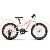 Bicicleta Haibike Seet Greedy Life 20 white/coral/silver 2019