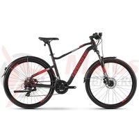 Bicicleta Haibike Seet Hardseven 2.5 Street 21 S. Tourney black/red/white matt 2019
