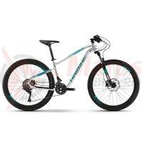 Bicicleta Haibike Seet Hardseven Life 2.0 21 S. Tourney white/turquoise/cyan matt 2019