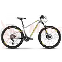 Bicicleta Haibike Seet Hardseven Life 4.0 27 S. Deore silver/lime/white 2019