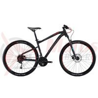 Bicicleta Haibike Seet HartNine 3.0 27s Deore mix black/anthr/red matt 2017