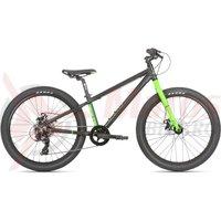 Bicicleta Haro Beasley 24 negru/verde 2019