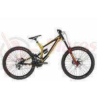 Bicicleta Kellys Noid 90, 27.5″, 2021, negru/galben