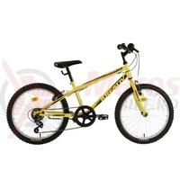 Bicicleta Kreativ 2013 galbena 2018