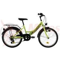 Bicicleta Kreativ 2014 galben neon 2018