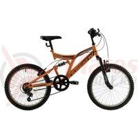 Bicicleta Kreativ 2041 portocalie 2018