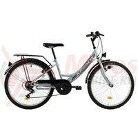 Bicicleta Kreativ 2414 turcoaz 2018