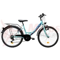Bicicleta Kreativ 2414 turcoaz 2019