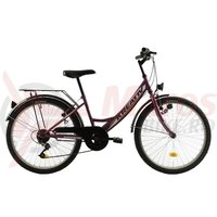 Bicicleta Kreativ 2414 violet 2018