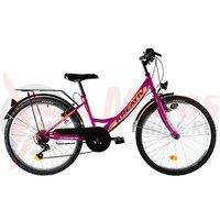 Bicicleta Kreativ 2414 violet 2019