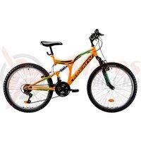 Bicicleta Kreativ 2441 24' portocalie 2019
