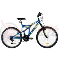 Bicicleta Kreativ 2441 albastra 2019