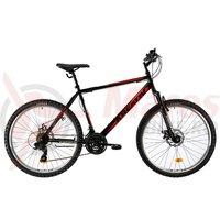 Bicicleta Kreativ 2605 negru/rosu 2019