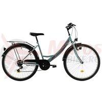 Bicicleta Kreativ 2614 verde deschis 26 inch 2018