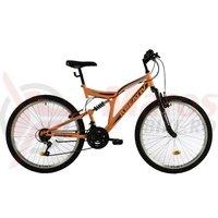 Bicicleta Kreativ 2641 portocalie 2018