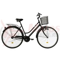 Bicicleta Kreativ 2812 neagra 2018