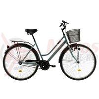 Bicicleta Kreativ 2812 verde 2018