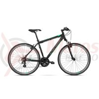 Bicicleta Kross Evado 2.0 black granat mat 2018