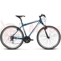 Bicicleta Kross Evado 2.0 M navy blue white matte 2017