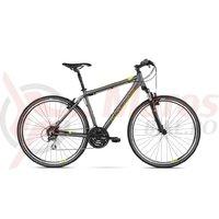 Bicicleta Kross Evado 3.0 graphite lime mat 2018