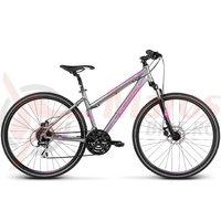 Bicicleta Kross Evado 3.0 graphite violet matte 2017