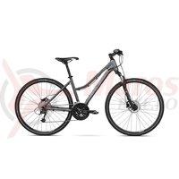 Bicicleta Kross Evado 6.0 DM graphite black mat 2018