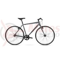 Bicicleta Kross NORU graphite black mat 2018