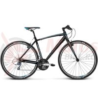 Bicicleta Kross Pulso 1.0 black blue glossy 2018