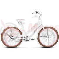 Bicicleta Kross Sugar D white-pink matte 2015