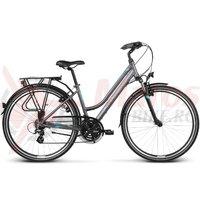Bicicleta Kross Trans Atlantic D graphite-turquoise matte 2017