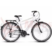 Bicicleta Kross Trans Atlantic white-green glossy 2015