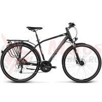 Bicicleta Kross Trans Global black platinum matte 2017