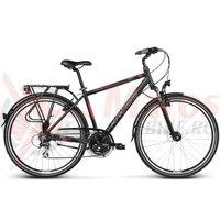 Bicicleta Kross Trans Siberian black red matte 2017