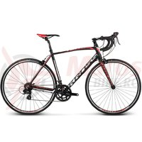 Bicicleta Kross Vento 1.0 black white red mat 2018