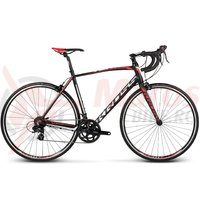 Bicicleta Kross Vento 1.0 black white red matte 2017