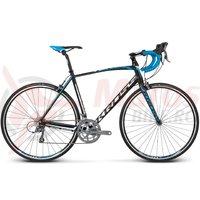 Bicicleta Kross Vento 2.0 black blue white matte 2017
