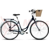 Bicicleta Kross Vivo V-brake navy blue-blue glossy 2014