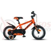 Bicicleta KTM Bike Kid 1.12 baieti portocaliu/negru
