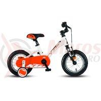 Bicicleta KTM Bike Kid 1.12 Uni alb/negru/portocaliu