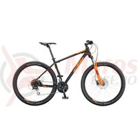 Bicicleta KTM Chicago 29.24 Disc negru mat/orange