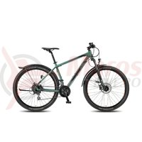 Bicicleta KTM Chicago 29.24 HD Street olive/black/orange